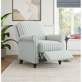 Link to The Gray Barn Lassen Linen Farmhouse Woven Push-back Recliner Similar Items in Living Room Furniture