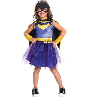 DC Comics Classic Batman Batgirl Costume Child (3 options available)