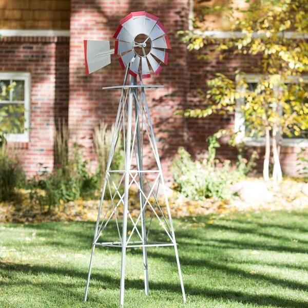Shop Smv 48a American Style Windmill Decorative Lawn Ornament 8