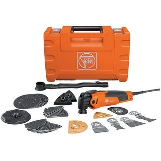 Fein 72295261090 Starlock MultiMaster Top Oscillating Tool Kit, 350 Watts, 110 Volts