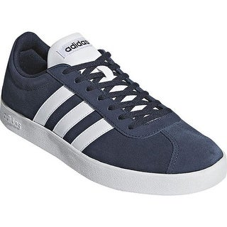 adidas Men's Vl Court 2.0 Trainer Collegiate Navy/FTWR White/FTWR White