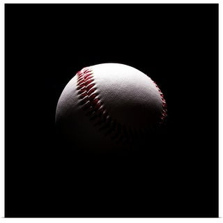 """Baseball in shadows"" Poster Print"