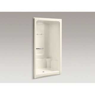 "Kohler K-1687 Sonata 48"" One-piece Shower Module with Integral High-dome Ceiling, Less Grab Bar Kit"