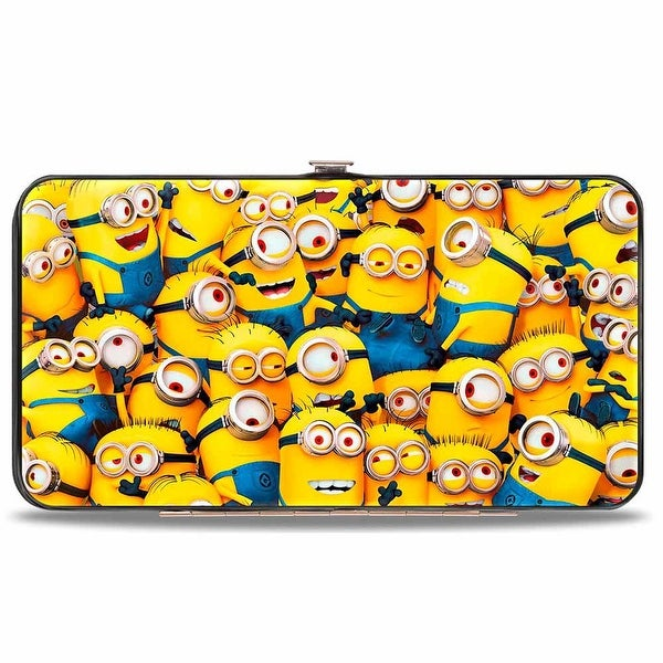 Minions Stacked Hinged Wallet - One Size Fits most