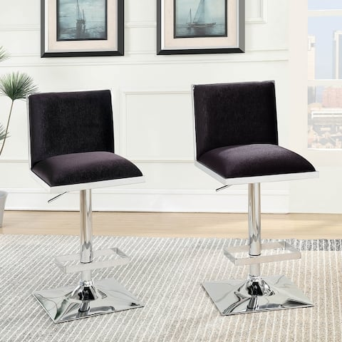 Furniture of America Hevi Contemporary Fabric Barstool (Set of 2)