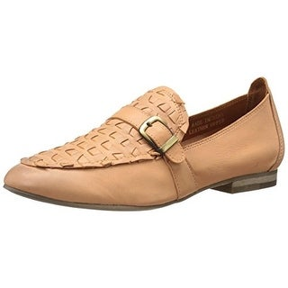 Everybody Womens Acela Leather Buckle Loafers