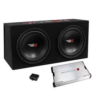 "Cerwin Vega XED 3000W MAX Basskit Dual 12"" loaded vented 3/4"" MDF w/1000W MAX amp"