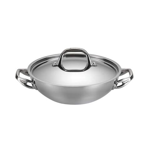 Anolon 30823 Cookware Covered Braiser, Small, Stainless Steel