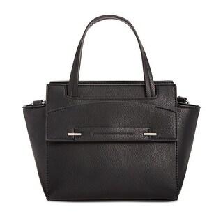 Danielle Nicole Womens Loy Satchel Handbag Faux Leather Convertible - small