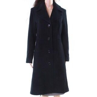 a72cbd8d54c6a8 Anne-Klein-Black-Women's-Size-8-Notch-Collar-Trench-Wool-Over-Coat.jpg