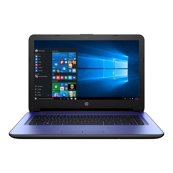 "Refurbished - HP 14-ac159nr 14"" Laptop Intel Celeron N3050 1.6GHz 2GB 32GB eMMC Windows 10"