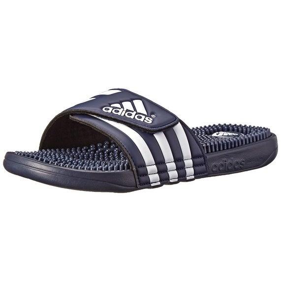 Adidas Mens Adissage, Navy/White/Navy