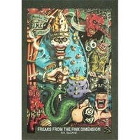 Freaks From The Fink Dimensionartwork Artwork Sticker Card R.K.
