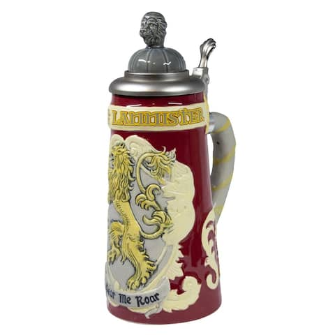 Game of Thrones House Lannister Beer Stein