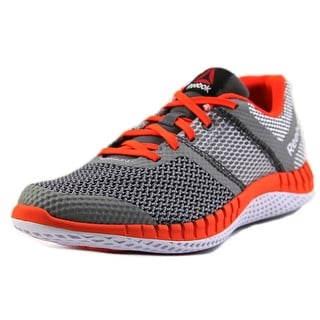 Reebok Zprint Run Youth Round Toe Synthetic Gray Running Shoe