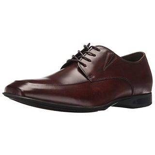 Kenneth Cole Reaction Mens Sharp-En Derby Shoes Leather Square Toe