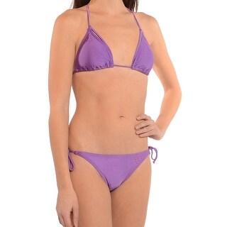 Puma Style Cats Triangle Bikini In Lavender
