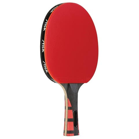 STIGA Evolution Performance Level Table Tennis Racket T1281 - Red