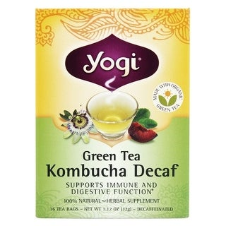 Yogi Tea Grn Kombucha Dcaf (16 Tea Bags)
