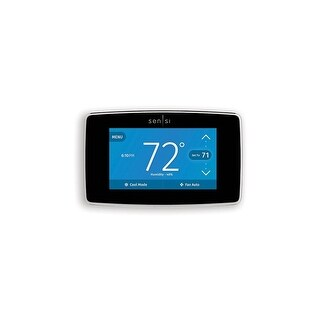 White-Rodgers 1F95U-42WF Sensi Touch Wi-Fi Thermostat - Black - N/A