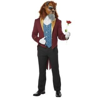 Mens Storybook Beast Disney Prince Costume