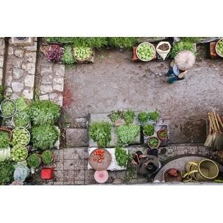 Vegetable & Market Photograph Art Print