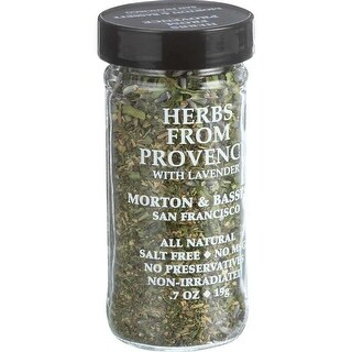Morton and Bassett Seasoning, Herbs from Provence - (Case of 3 - 0.7 oz)
