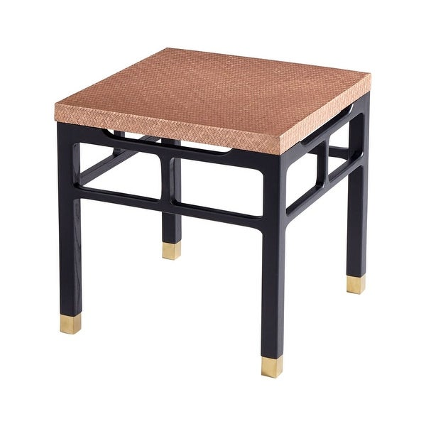 """Copper Top Outdoor Coffee Table: Shop Cyan Design Kudos Coffee Table Kudos 23.75"""" Long Wood"""