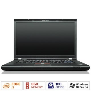 Refurbished Lenovo W530 - Laptop 15.6 Inch Laptop