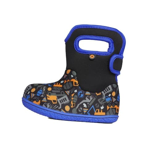 Bogs Outdoor Boots Boys Construction Waterproof Insulated