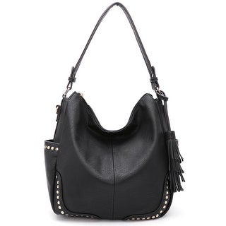 Style Strategy Olivia Hobo Bag Black
