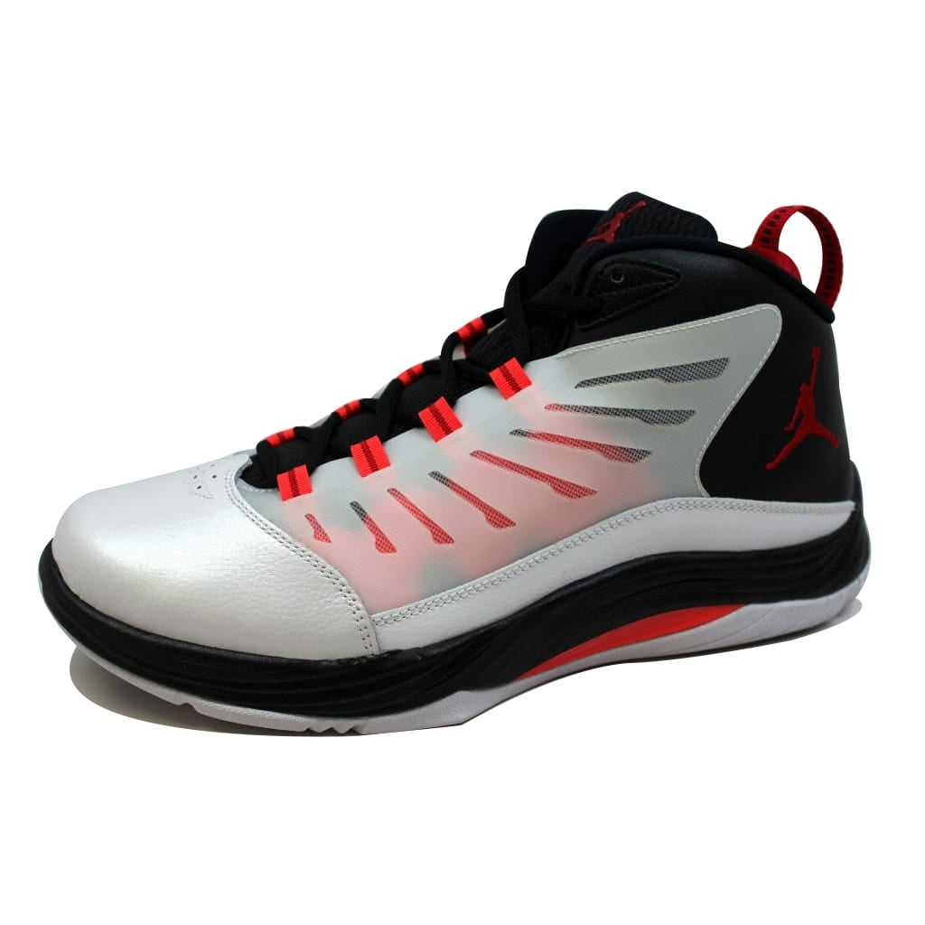 6a6e6c008ee Shop Nike Men's Air Jordan Prime.Fly 2 White/Gym Red-Black-Infrared  23654287-123 - Free Shipping Today - Overstock - 21141942
