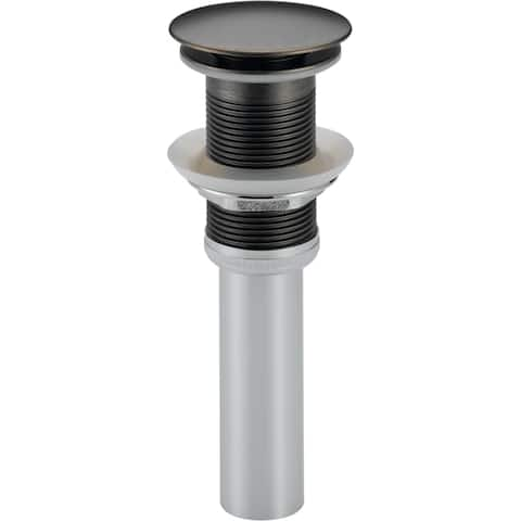 Delta 72172 Push Style Pop-Up Drain Assembly Less Overflow
