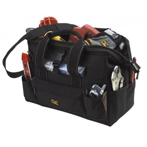 CLC 1534 Tool Bag With Top-Side Plastics Parts Tray, 23 Pockets