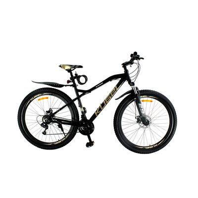 TiramisuBest 29 Inch Aluminum Alloy Mountain Bike Black/Gold