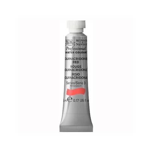 Winsor & newton / colart 0102548 professional water colour quinacridone red 5ml