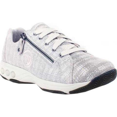 Therafit Women's Francesca Sneaker Grey Fabric