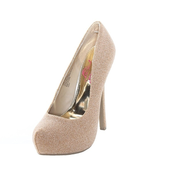 Unlisted Womens just in time Closed Toe Platform Pumps - 8