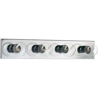 """Quorum International Q5016-4 Vanities 4 Light 24"""" Wide ADA Compliant Vanity Strip"""
