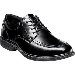 Nunn Bush Men's Bourbon Street Black Smooth Leather