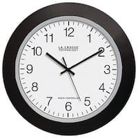 "La Crosse Technology Wt-3129B 12"" Black Atomic Wall Clock"