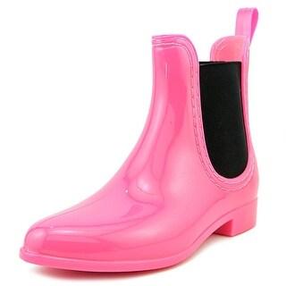 BootsiTootsi Chelsea Rain Round Toe Synthetic Rain Boot