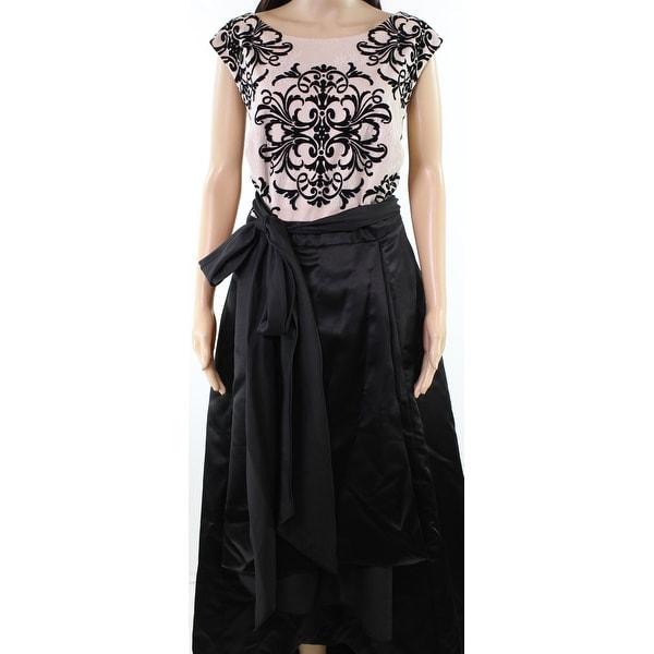 e3991d1e525b4 Shop Betsy Adam Beige Womens Plus Lace Contrast Gown - Free Shipping ...