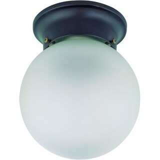 """Nuvo Lighting 60/3154 Single Light 6"""" Wide Pendant with Frosted White Glass Shade"""