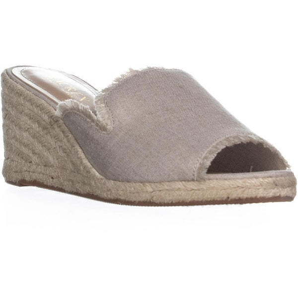 0001fe263b997 Shop Lauren Ralph Lauren Carlynda Wedge Espadrille Sandals, Natural ...