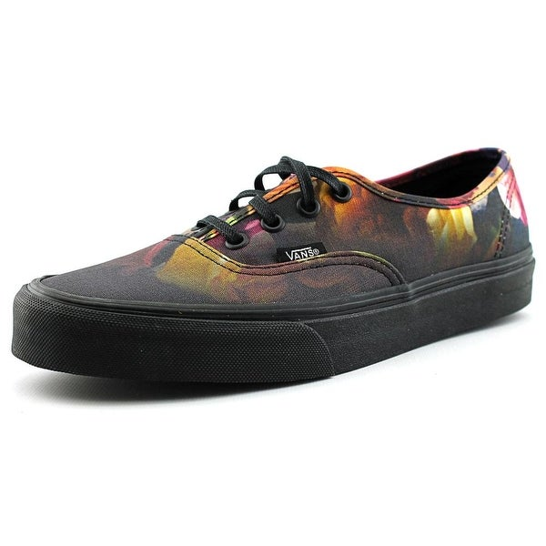 Vans Authentic  Women  Round Toe Synthetic Black Sneakers