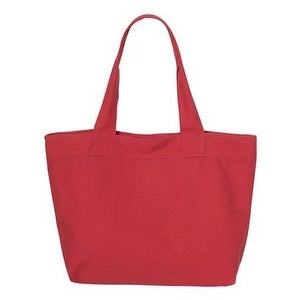 HYP 15.3L Zippered Tote - Red/ Red - One Size