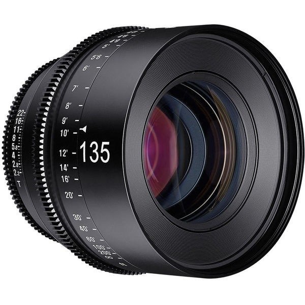 Rokinon Xeen 135mm T2.2 Lens with PL Mount - black