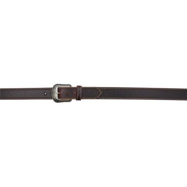 3D Belt Mens Western Stitching Removable Antique Dark Brown