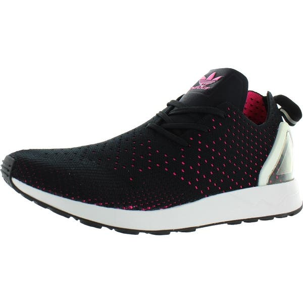 Círculo de rodamiento explosión Residente  Adidas Mens ZX Flux ADV ASYM PK Sneakers Running Workout - Core Black/Shock  Pink - Overstock - 30607853 - 11.5 Medium (D)